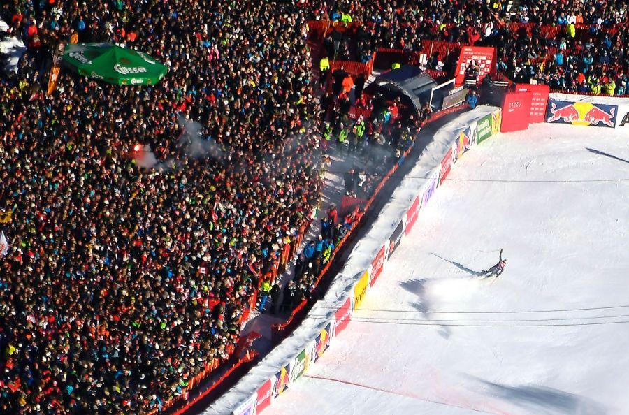 Dominik Paris will auch heuer wieder vor den Massen in Kitzbühel jubeln. (Foto: APA)