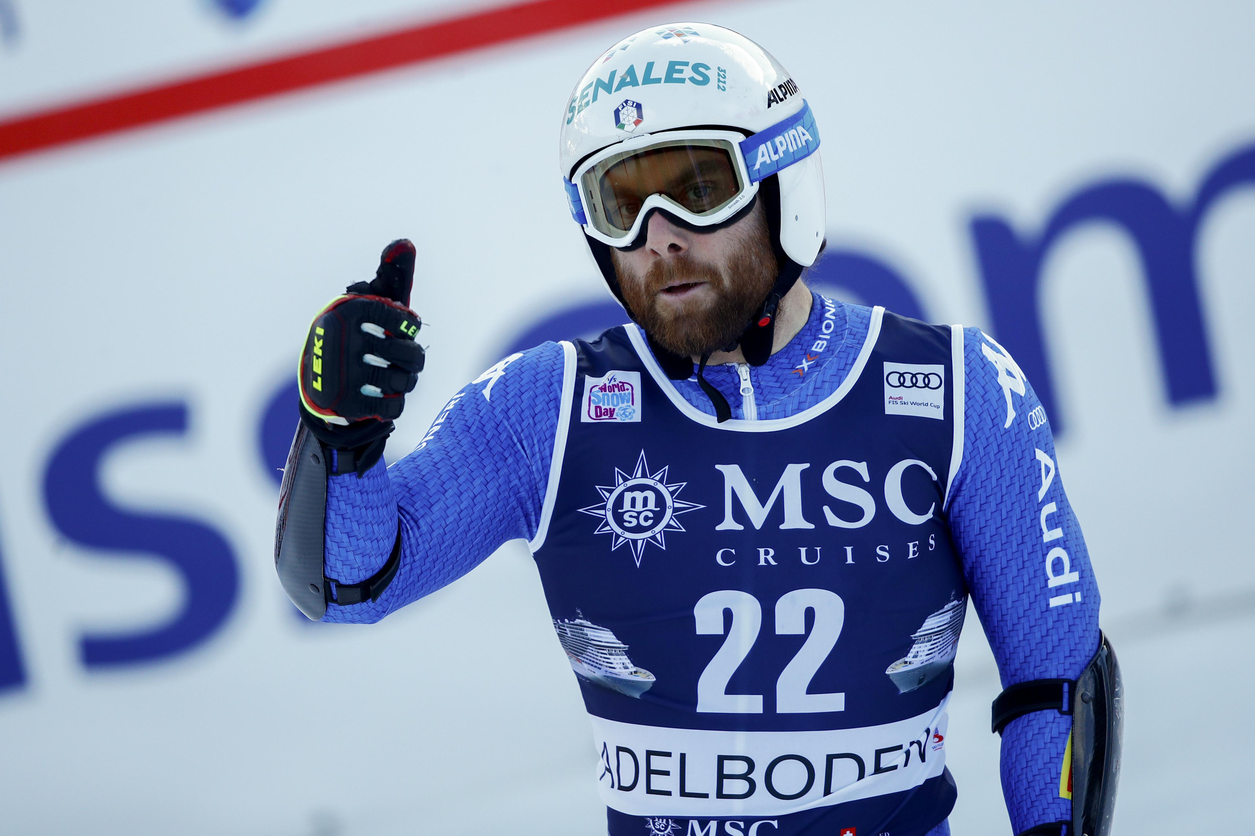 """Ricky"" Tonetti hat den FIS-Slalom von Folgaria gewonnen. (Foto: Pentaphoto)"